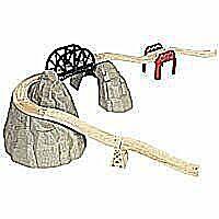 Wooden Train Track