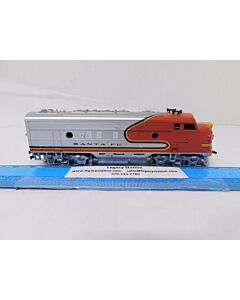 USED Athearn #310 Santa Fe Diesel Engine HO-scale w/out box (TESTED AND WORKS)
