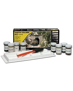 Woodland Scenics C1215 Earth Color Kit