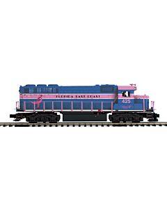 MTH 20-21022-1 Florida East Coast GP-40 Diesel Engine w/Proto-Sound 3.0 (Hi-Rail Wheels)