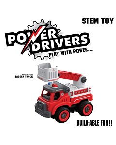 Flybar PDF-002 Power Drivers Rescue Squad - Ladder Truck