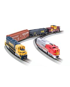 Bachmann 00501 HO SF Digital Commander Diesel Set DCC Train Set