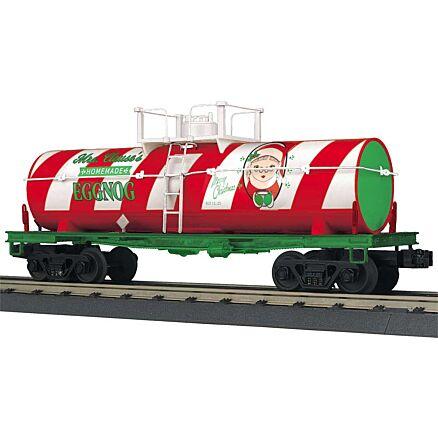 MTH 30-73568 Christmas Smoking Tank Car
