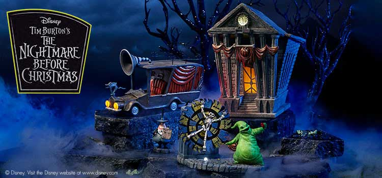 Department 56 Nightmare Before Christmas
